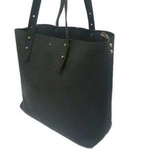 kate spade Adjustable Strap Black Tote ♤